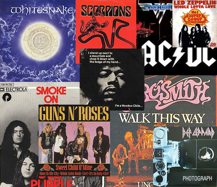 Top 10 Hard Rock Guitar Riffs