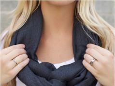 infinity scarf step 5