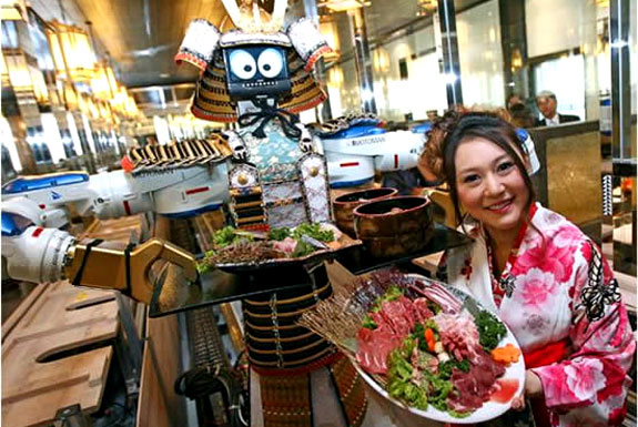 Dine with Robots