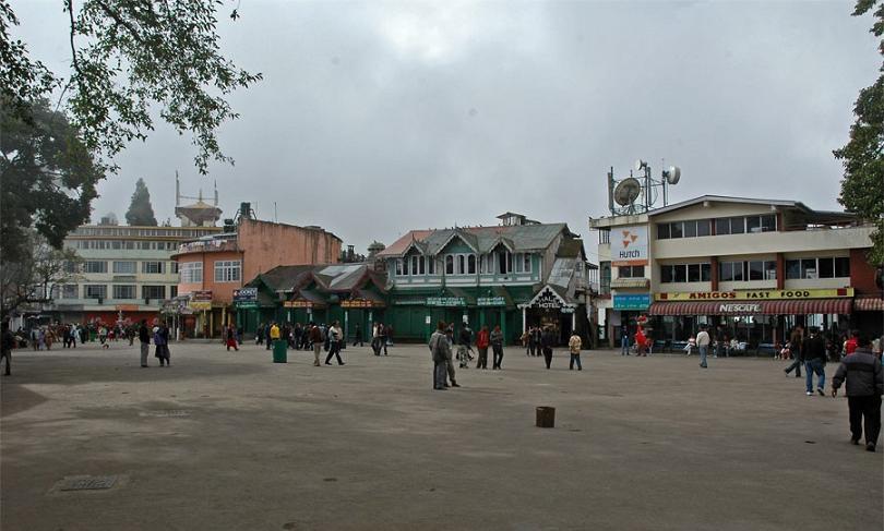 Darjeeling Mall and the Chowrasta