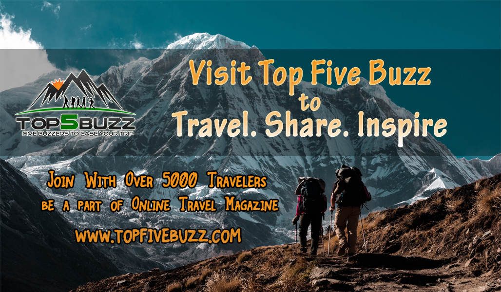 Travel, Share, Inspire With Top Five Buzz