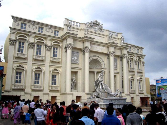 Santosh Mitra Square durga puja