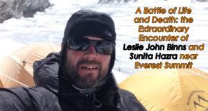 Leslie John Binns Sunita Hazra Everest Rescue