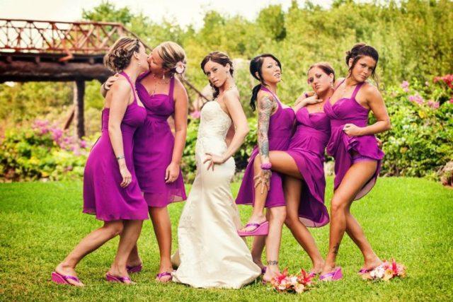 Bizarre wedding