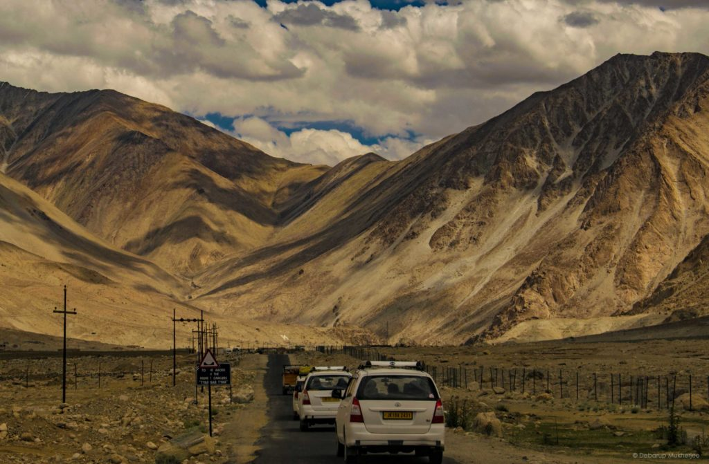 Stunning roads of Ladakh