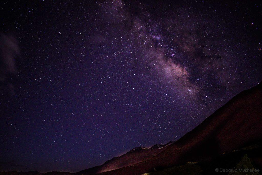 Milky way Pangong