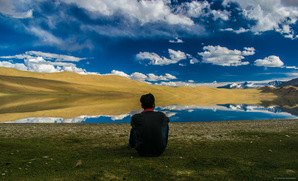 Lonely near Tso Kiagar Lake