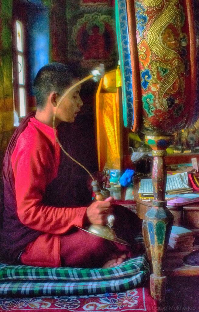 young lama ladakh