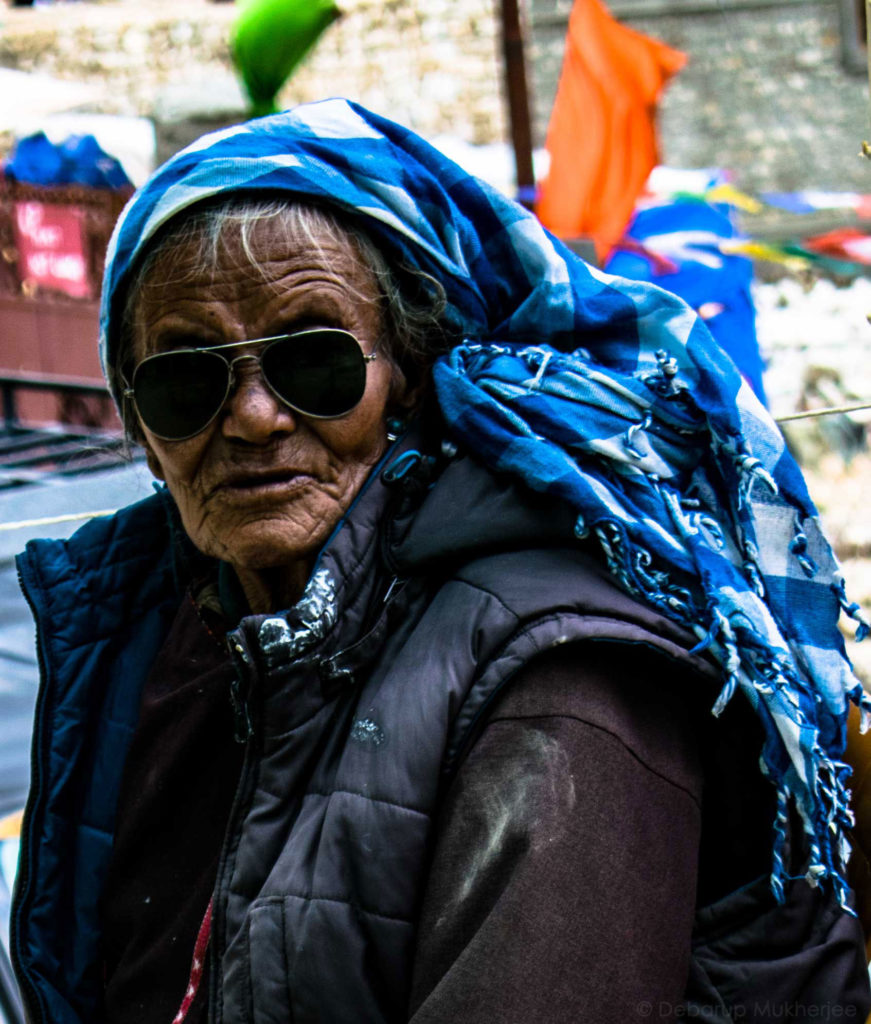 ladakhi old man