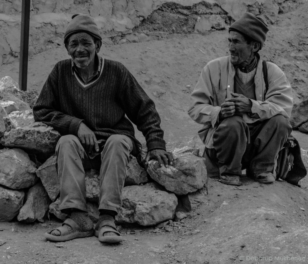 local ladakhi people