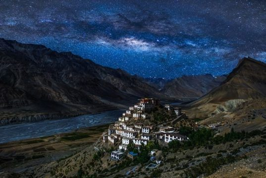 spiti valley night sky