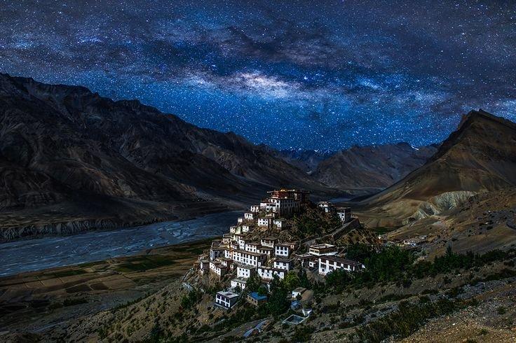 spiti valley night sky