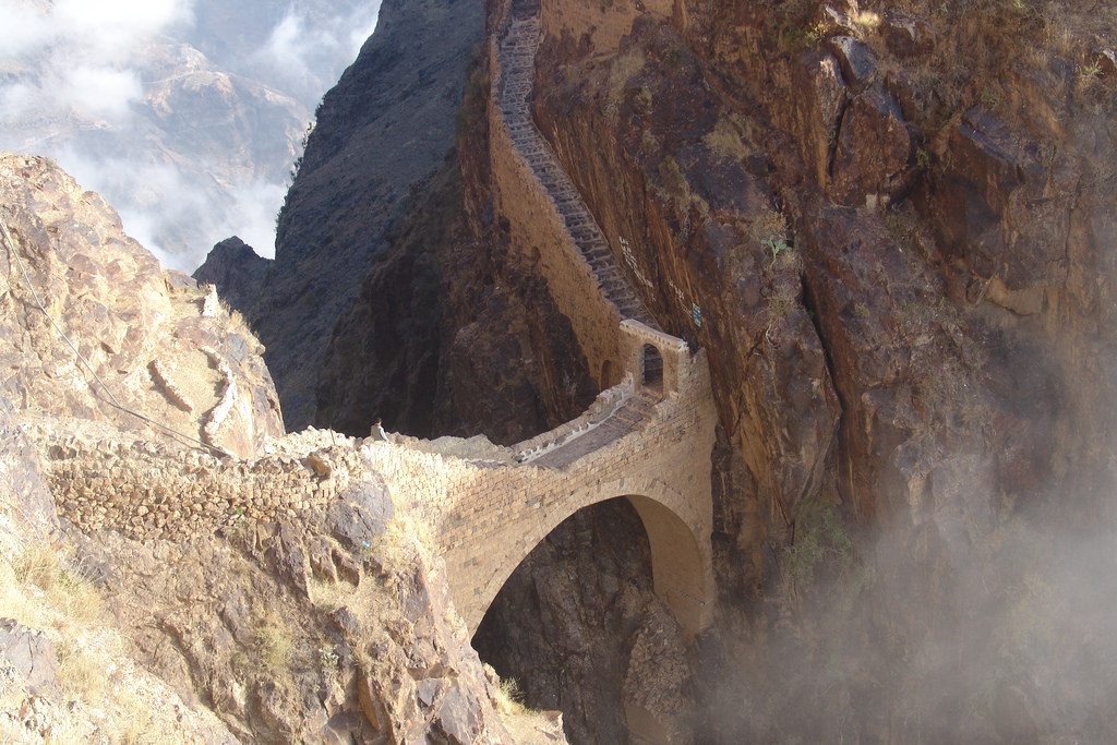 The Shahara Bridge Yemen
