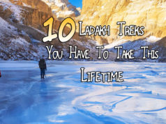 Ladakh Trek list