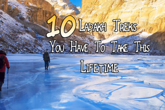 Ladakh Trek list