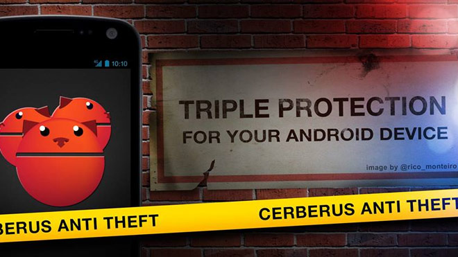cerberus anti theft