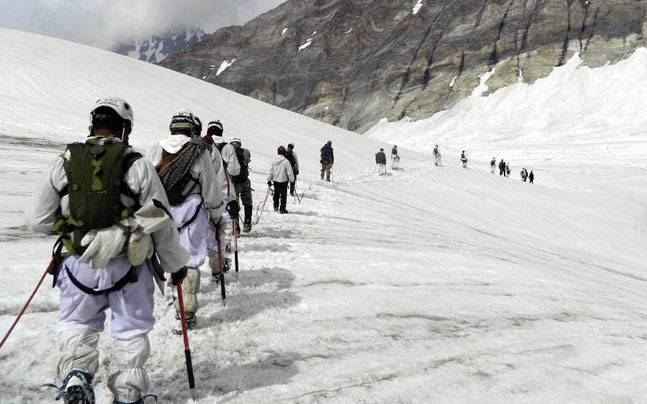 siachen trekking with indian army