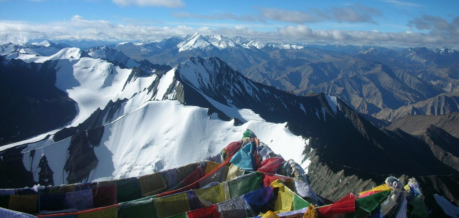 view from Stok Kangri