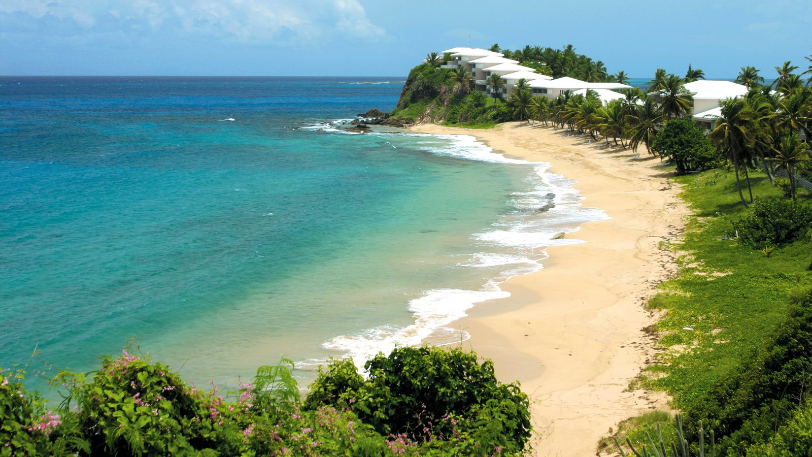Antigua & Barbuda beach