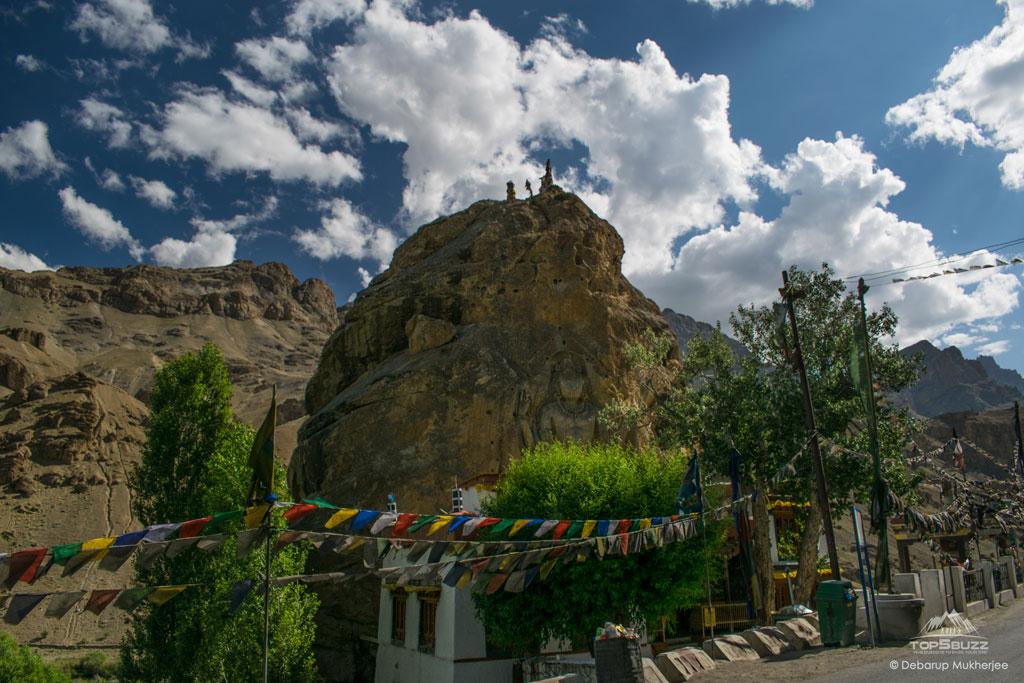 Mulbekh Monastery Nature