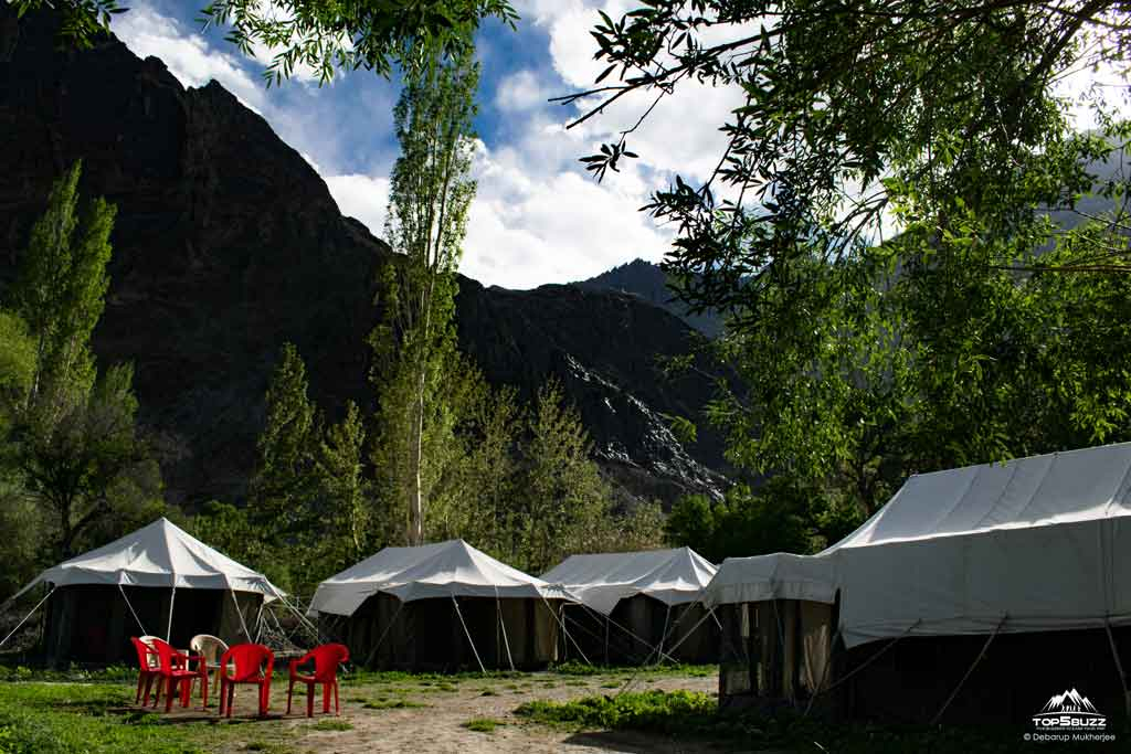 Edel Weiss Camp at Nubra Valley