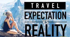 travel expectation vs reality