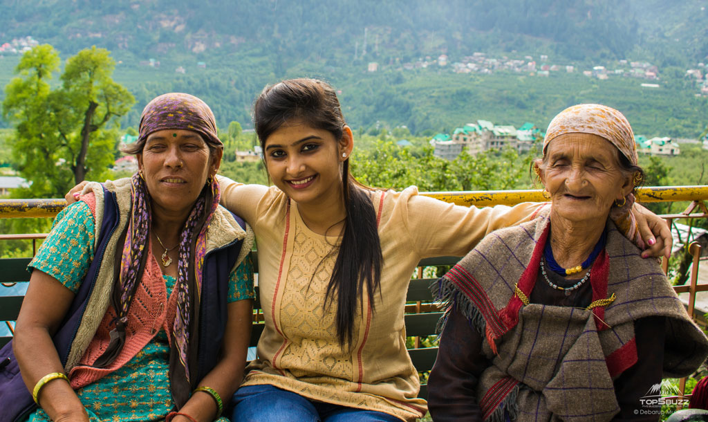 Local people at Manali