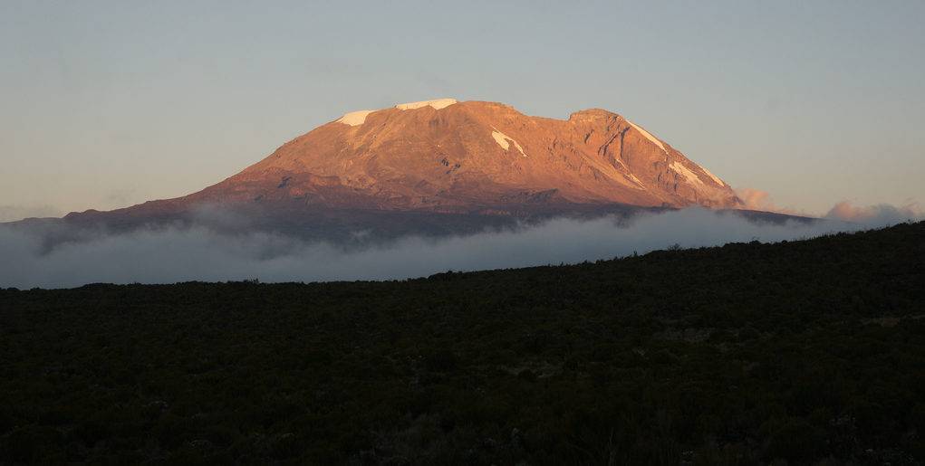 Mt. Kilimanjaro Sunset