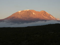 Mt. Kilimanjaro Sunset