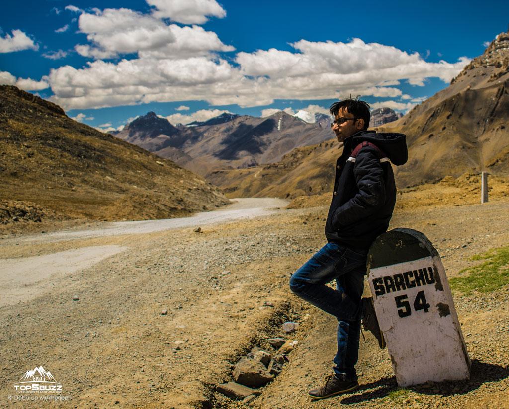 Sarchu to Lachungla Pass