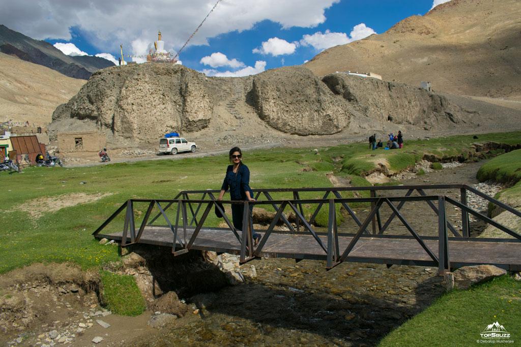Sumdo village bridge