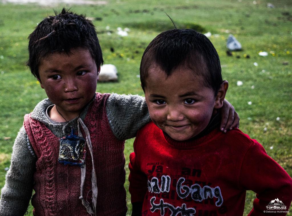 Sumdo village people