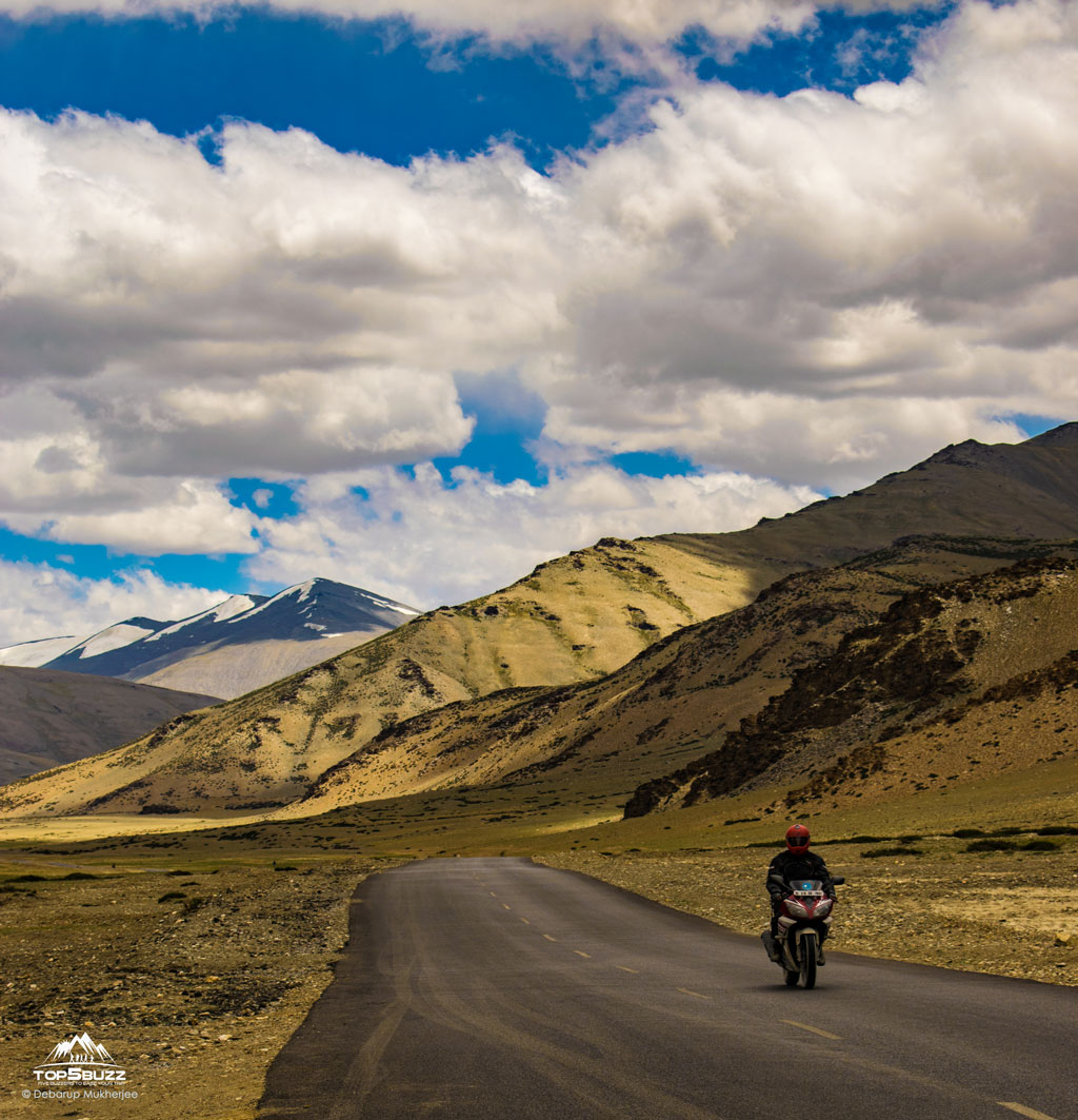 bike ride in Ladakh