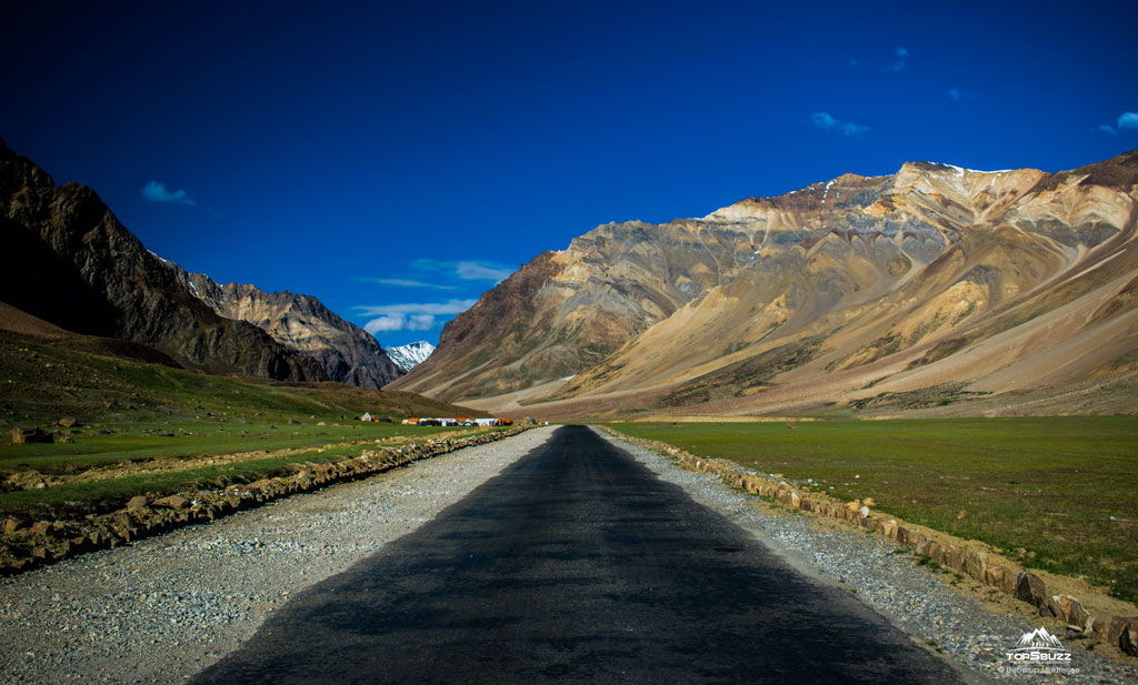 Road in Sarchu