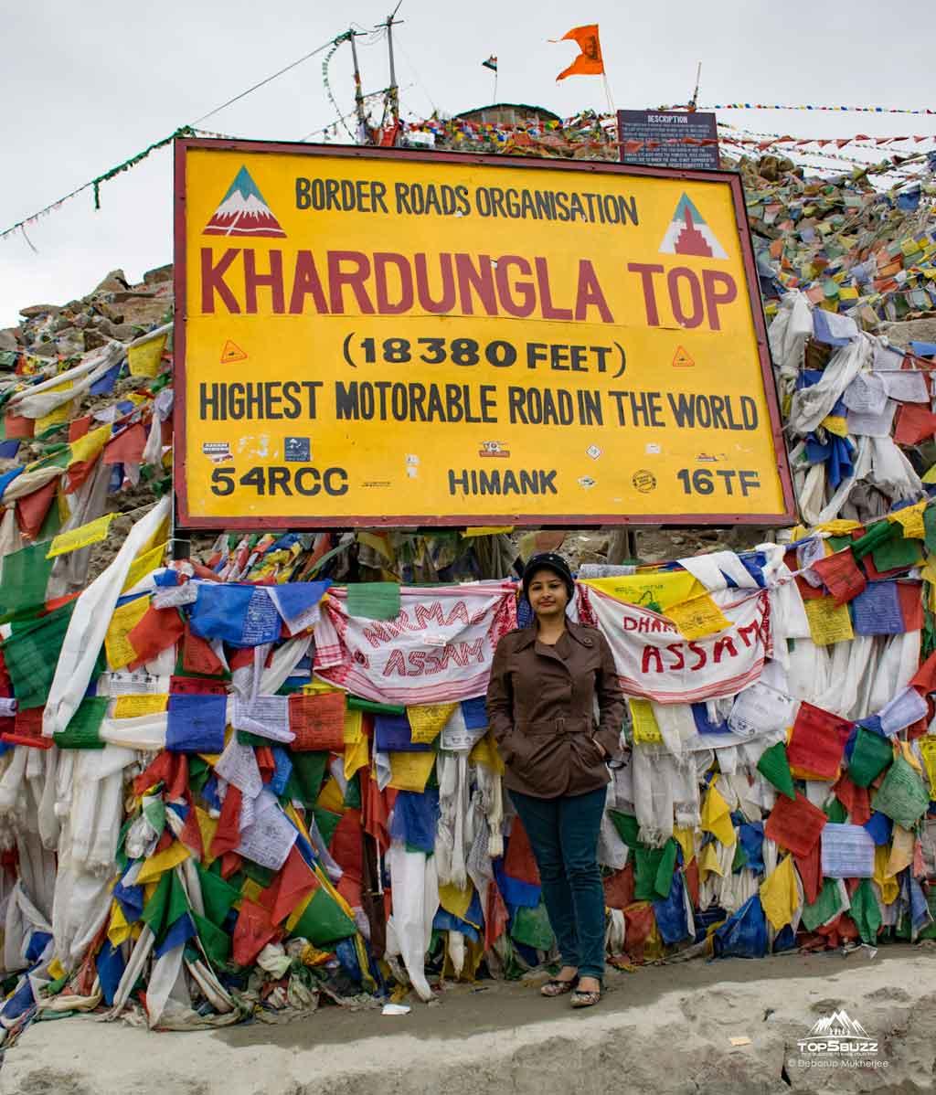 khardungla pass top
