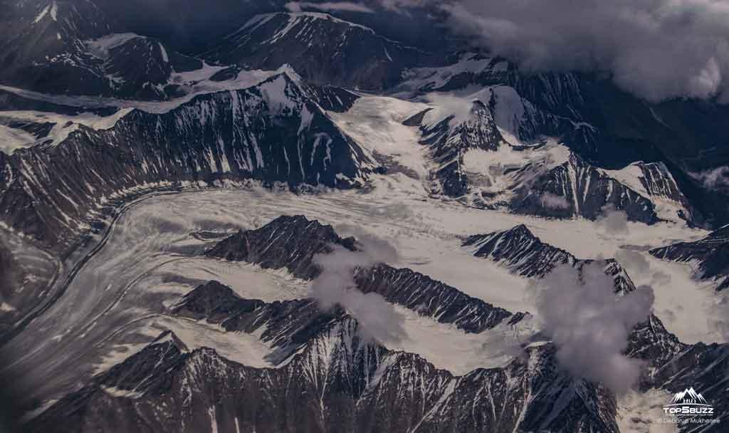 ladakh from flight