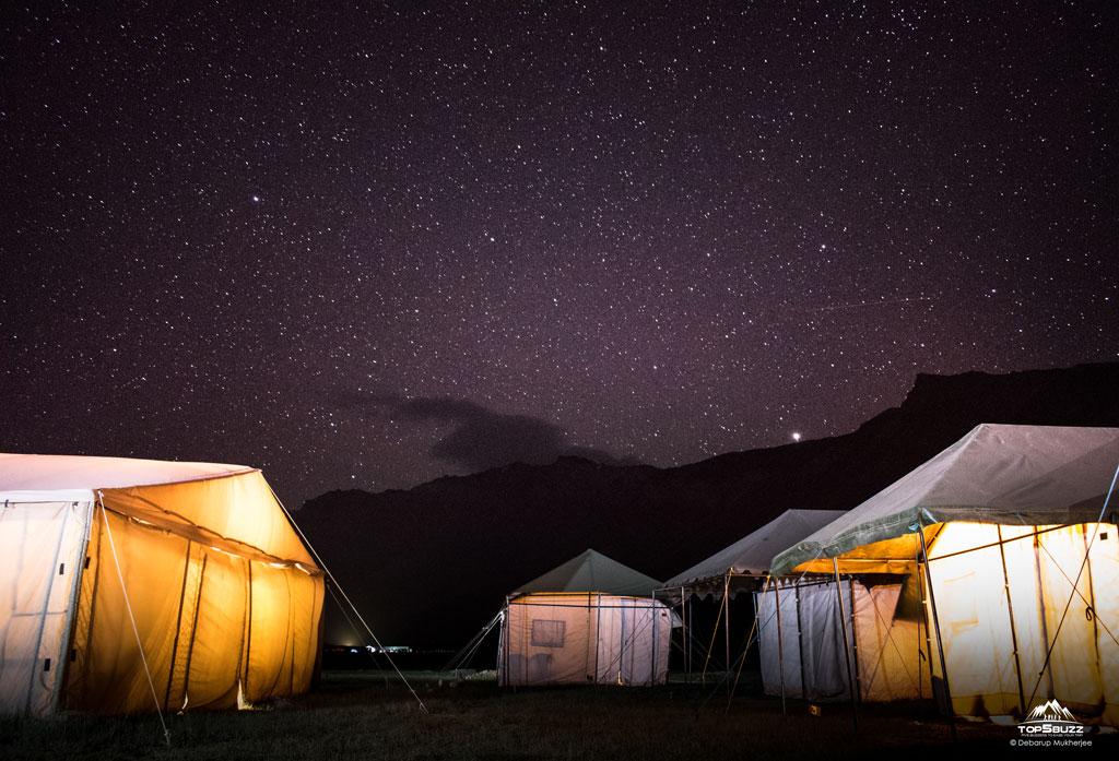 nightsky at Sarchu Himachal Pradesh