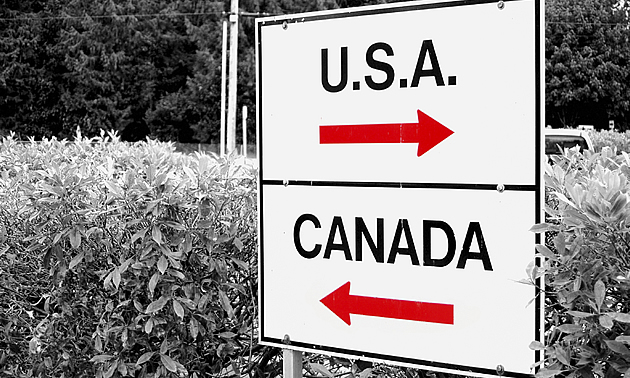 canadaian travelling USA