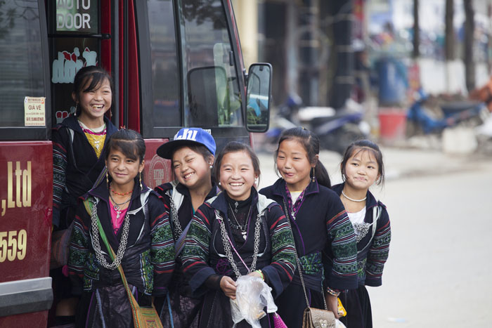 the Hmong girls in Sapa