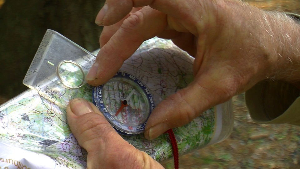 Compass and a Topographic Map