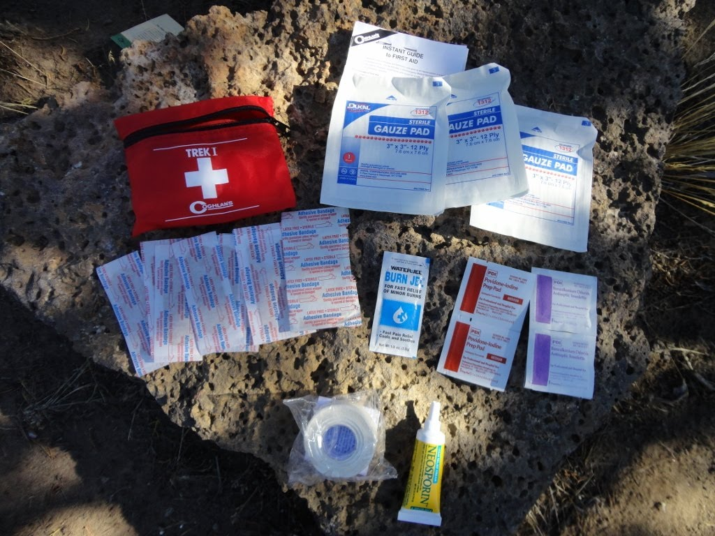 First Aid Kits for trekking