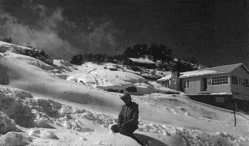 Sandakphu in winter, 1979