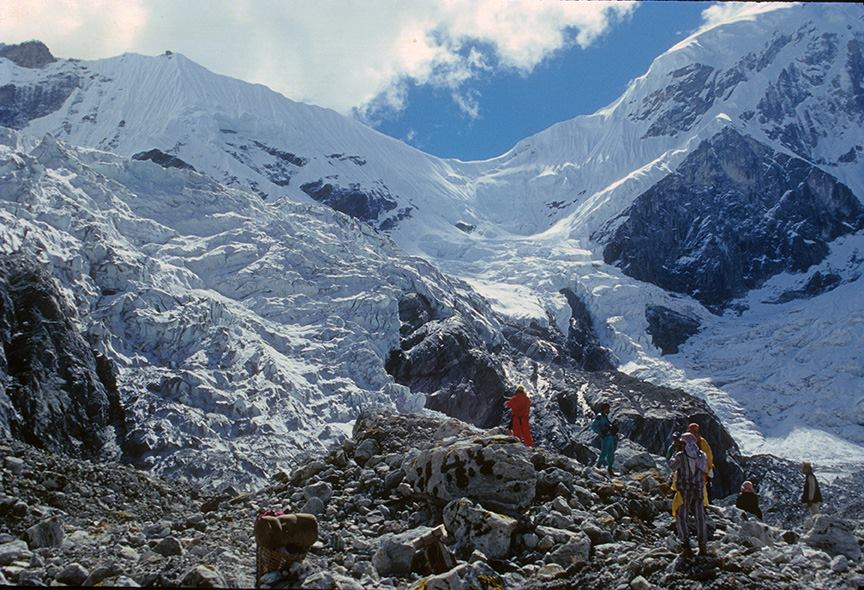 Tashi Lapcha Pass, 1999