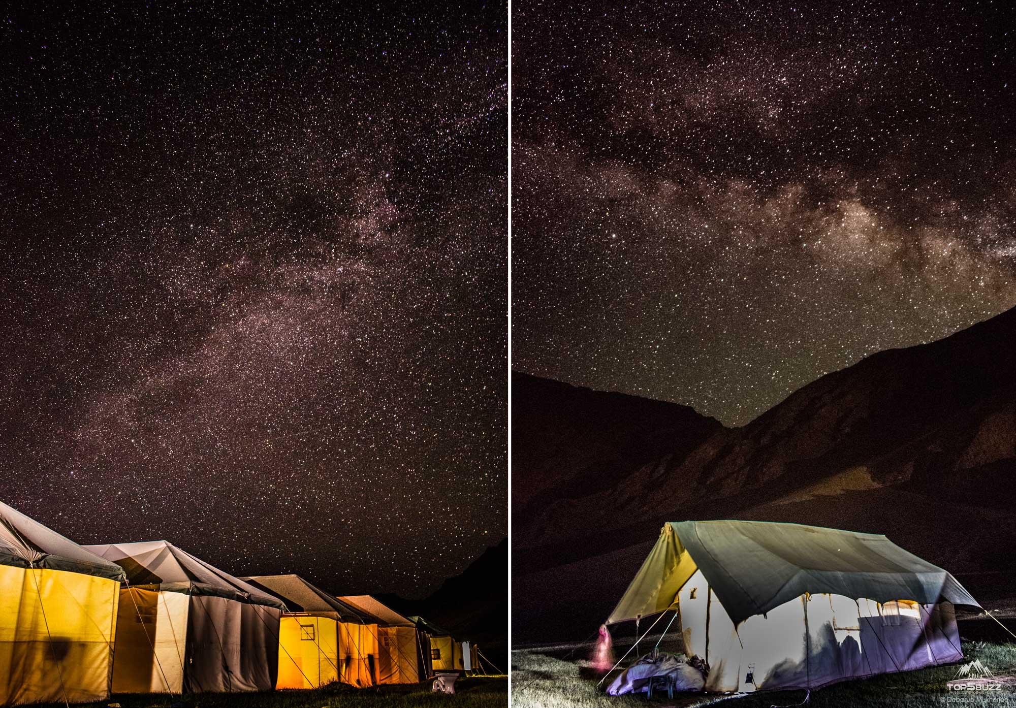 Ladakh Nightsky Photography