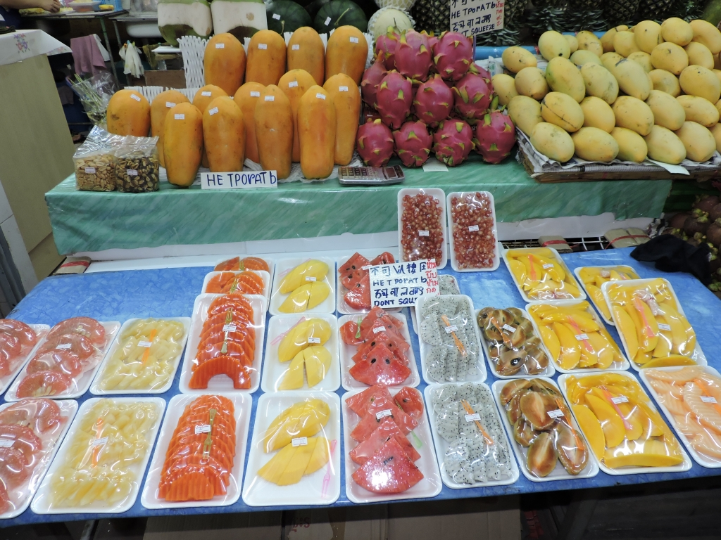 Exotic Fruits in Pattaya