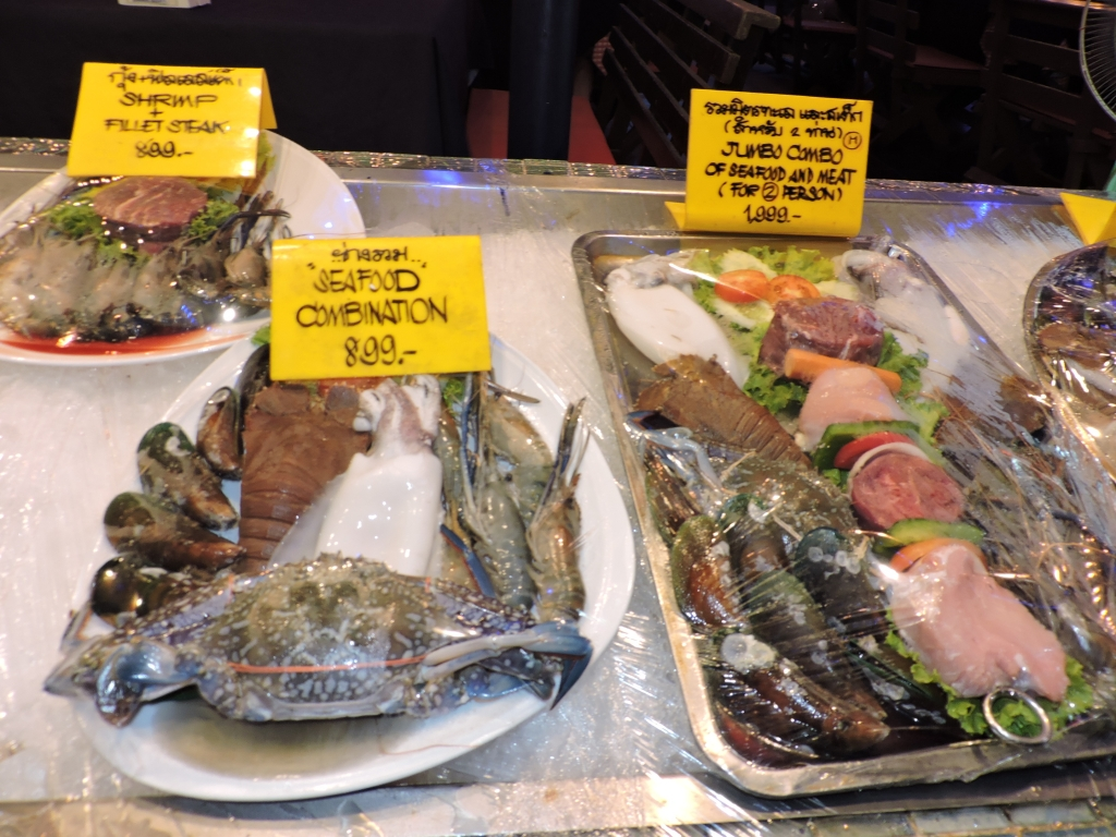 Sea Food at Pattaya