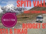 Spiti Budget Trip Plan