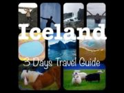 Iceland 3 Days Travel Guide