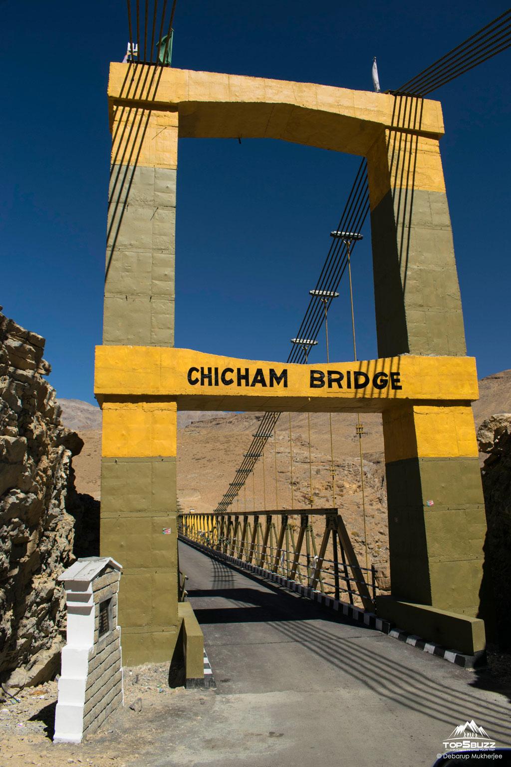 Chicham Bridge Entry point