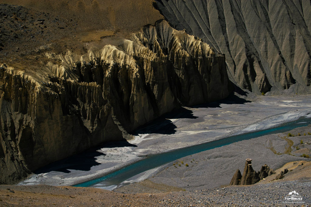 Limestone Rocks in Spiti